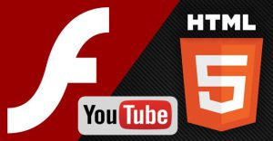 flash player, adobe flash player, youtube , html 5